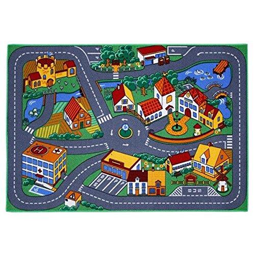 associated-weavers-alfombra-infantil-para-jugar-95-x-133-cm-diseno-de-ciudad-con-carreteras
