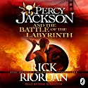 Percy Jackson and the Battle of the Labyrinth Audiobook by Rick Riordan Narrated by Jesse Bernstein