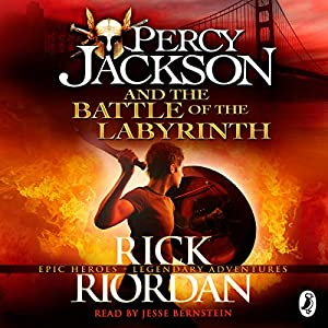 Percy Jackson and the Battle of the Labyrinth Audiobook