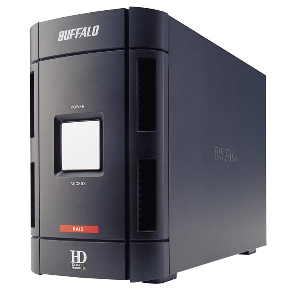 Buffalo 2TB DriveStation Duo 2-Bay USB 2.0, FireWire 400; RAID ...
