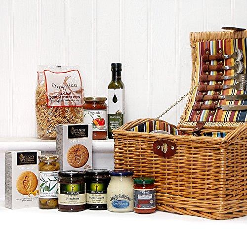 Wedding Gift Picnic Basket Ideas : Organic Fine Food Picnic Hamper Basket by Fine Food Store Gift ideas ...