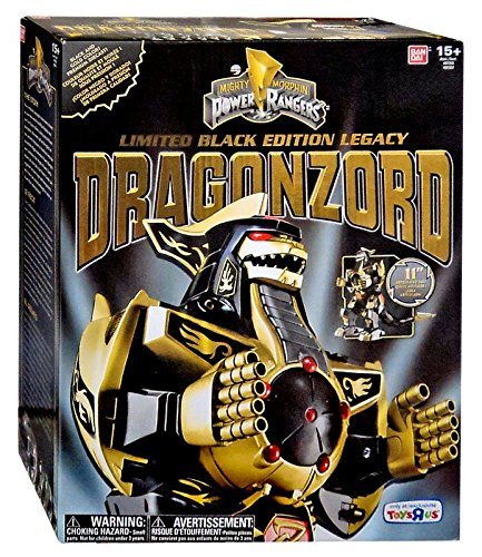 Power Rangers Limited Black Edition Legacy Dragonzord TRU Exclusive
