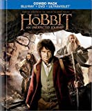 The Hobbit Blu-Ray Combo Pack with Exclusive 64 Page Collectible Book + 4 Featurettes (Blu-ray/DVD Combo+UltraViolet Digital Copy) (2012)
