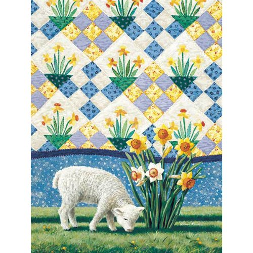 Cheap SunsOut Daffodils 500pc Jigsaw Puzzle by Rebecca Barker (B004HSFQ3W)