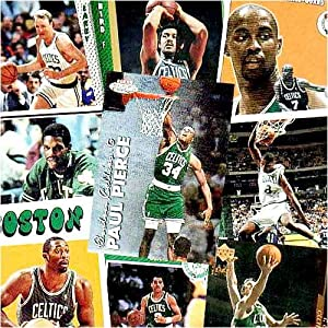 Boston Celtics 50 Card Trading Card Set by Various Brands