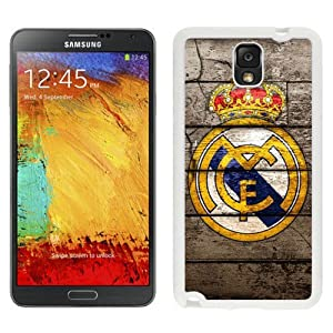 Case Design with Real Madrid 2 White Case for Samsung Galaxy Note 3