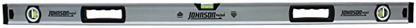 JOHNSON LEVEL & TOOL 1741-4800 48, Aluminum Box Beam Level (Tamaño: 48)