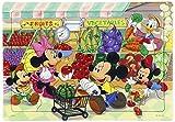 40ピース 子供向けパズル ディズニー スーパーでおかいもの シルエットピースシリーズ チャイルドパズル
