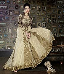 Pure Net with silk inner Gown