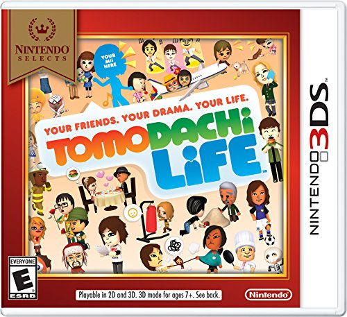 Nintendo Selects: Tomodachi Life - Nintendo 3DS (My Life Portable Console compare prices)