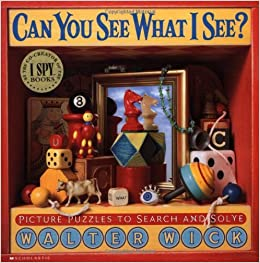 Can You See What I See?: Picture Puzzles to Search and Solve Hardcover