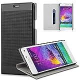 HOOMIL Samsung Galaxy Note Hülle PU Leder Flip Case Cover