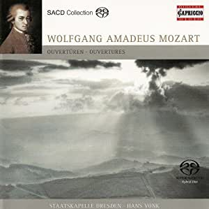 Mozart W.a.: Overtures (Dresd