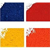 Bath Bomb Lake Color Powder Sample Set - Cosmetic Powder Color for Bath Bombs, Bath Fizzies, & General Cosmetics