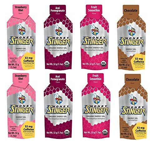 Honey Stinger Organic Energy Gel - Variety Selection (8 X 1.1Oz Packs) front-753487