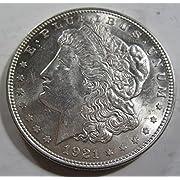 1921 silver Morgan Dollar Brilliant Uncirculated