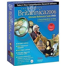 Εγκυκλοπαίδεια Britannica 2006 Ultimate Reference
