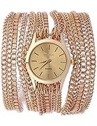 KARP Women's Fashionable Stainless Steel Quartz Bracelet/ Wrist Watch