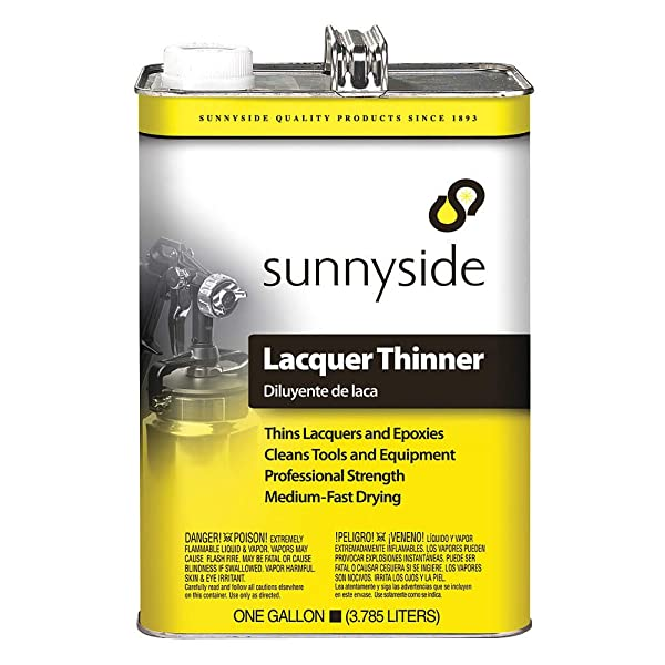 Lacquer Thinner, 1 gal. via Amazon