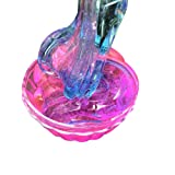 Aland DIY Multicolor Crystal Mud Clay Slime Putty Plasticine Sludge Stress Relief Toys Ins Explosion Models Color Matching Gradient Crystal mud Slime Poke Decompression Toys Pink + Blue (Color: Pink + Blue)