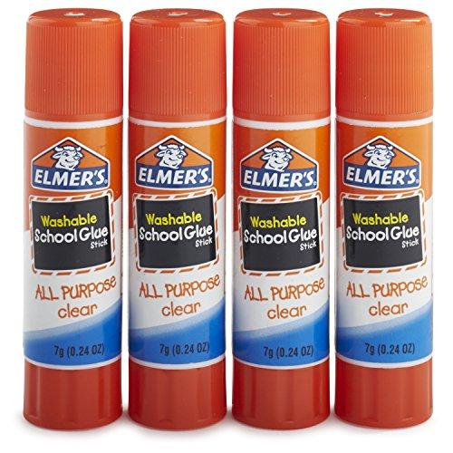 elmers-all-purpose-school-glue-sticks-clear-washable-4-pack-024-ounce-sticks