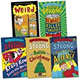 Jeremy Strong Jeremy Strong Pack Ages 9-11 Pack, 5 books, RRP £27.95 (Beware! Killer Tomatoes; I'm Telling You They're Aliens; Krazy Kow Saves the World; The Battle For Christmas; Weird).