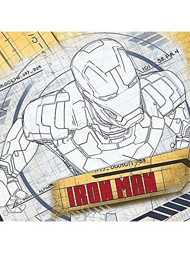 Iron Man 3 Luncheon Napkins - 1