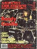 Modern Drummer Magazine (November 1987) (Randy Castillo of Ozzy Osbourne)
