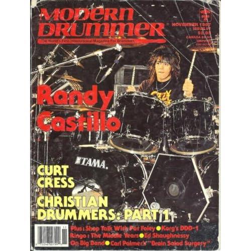 MODERN DRUMMER MAGAZINE 1988 1989  16 ISSUES