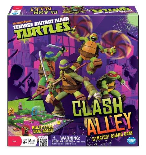 Teenage Mutant Ninja Turtles Clash Alley Game