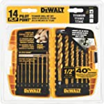 DEWALT DW1354 14-Piece Titanium Drill...