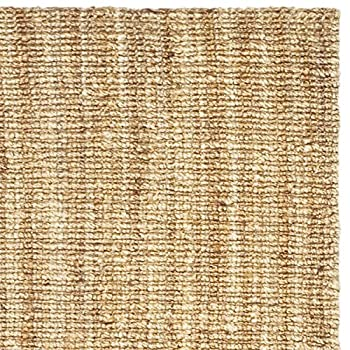Safavieh Natural Fiber Collection NF447A Hand Woven Natural Jute Runner (2 x 6)