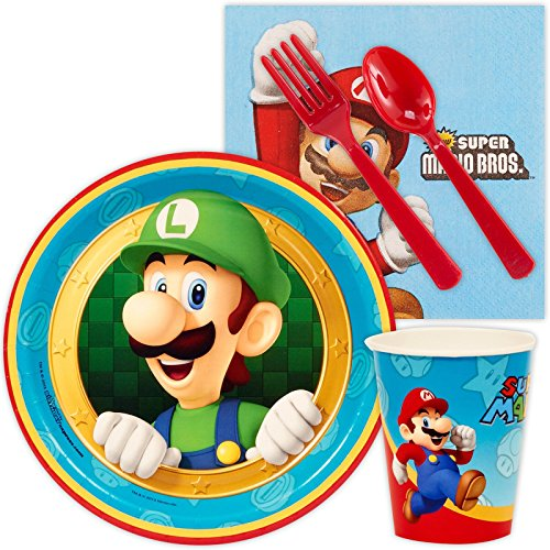 Super Mario Party Supplies - Snack Party Pack