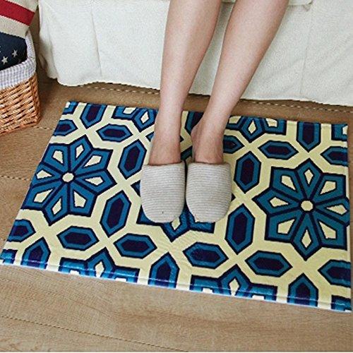Haosen 40x60cm Stile bohemien Cucina stuoie disimpegno bagno zerbini zerbino casa antiscivolo tappetini moquette