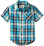 The Childrens Place Little Boys Plaid Shirt