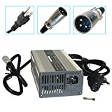 24V 8A Battery Charger with XLR Connector for Jazzy 1450, invacare tdx 3, Invacare Pronto M51, Wheelchair, Sunrise Medical, Quickie, Drive Medical Electric Mobility Power Supply