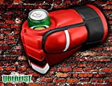 Uberfist Hockey Glove - Chicago   Beer Fist, Beer Koozie, Beverage Holder, Bottle, Can, Cup, Drinking Fist, Foam Beer Fist, Gift