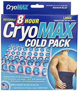 """Cryo-Max Reusable Cold Pack, Large, 12"""" X 12"""", 1-Count Box"""