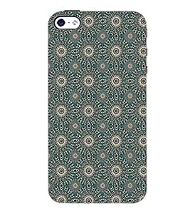 PrintDhaba Pattern D-5265 Back Case Cover for APPLE IPHONE 4S (Multi-Coloured)