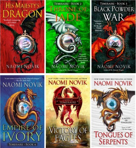 The Temeraire Series Collection Set (His Majesty's Dragon, Throne of Jade, Black Powder War, Empire of Ivory, Victory of Eagles, Tongues of Serpents, Books 1-6) (Jade Empire 2 compare prices)