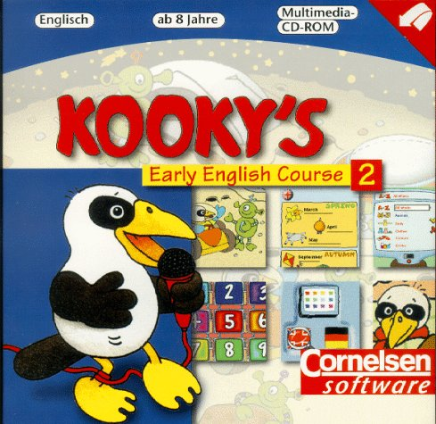 Kooky's Early English Course: Band 2 - Das Multimedia-Lernabenteuer für Kinder ab 8 Jahre: CD-ROM