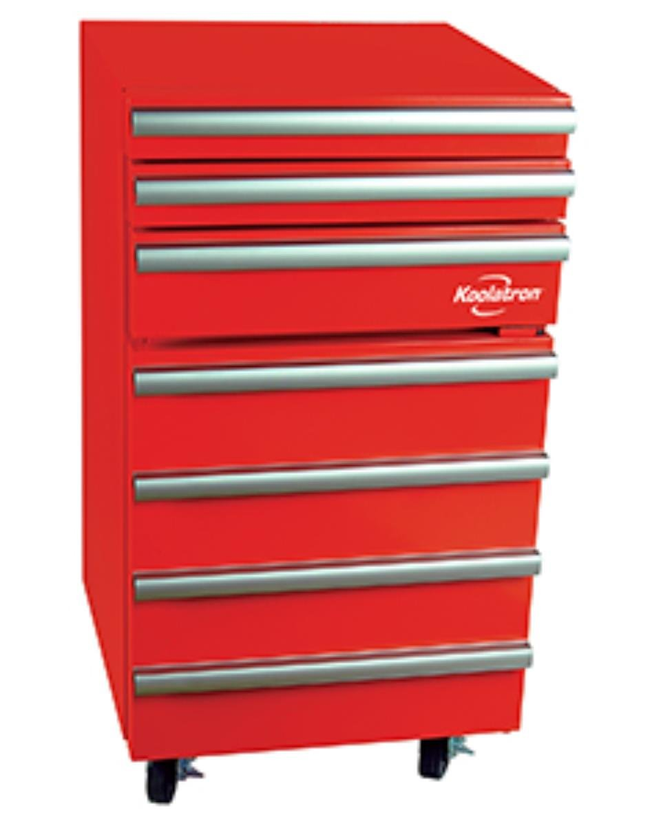 Koolatron KTCF50 Tool Chest Fridge, Red