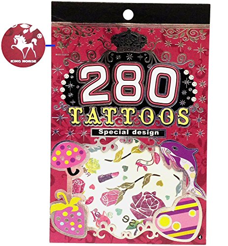 280 Temporary Tattoos - F3 Style