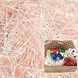 【ラッピング プロ仕様】CCL クッション材(紙パッキン)200g さくら(ライトピンク)1mm幅
