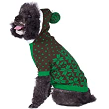 Blueberry Pet 6 Patterns Holiday Christmas Themed Dog Sweater