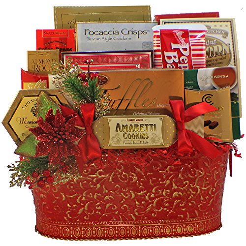 Art of Appreciation Gift Baskets Holiday Greetings Christmas Gourmet Food Gift Basket