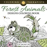 Forest Animals Designs Coloring Book...