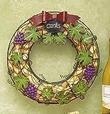 Wine Cork Hanging Door Wreath