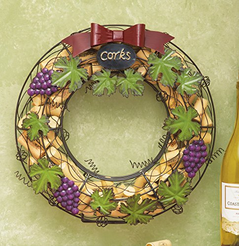 Wine Cork Hanging Door Wreath
