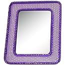 Inkology Glam Rock Mesh Locker Mirror, 591-9 (colors may vary)